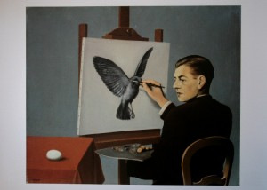 magritte-clairvoyant
